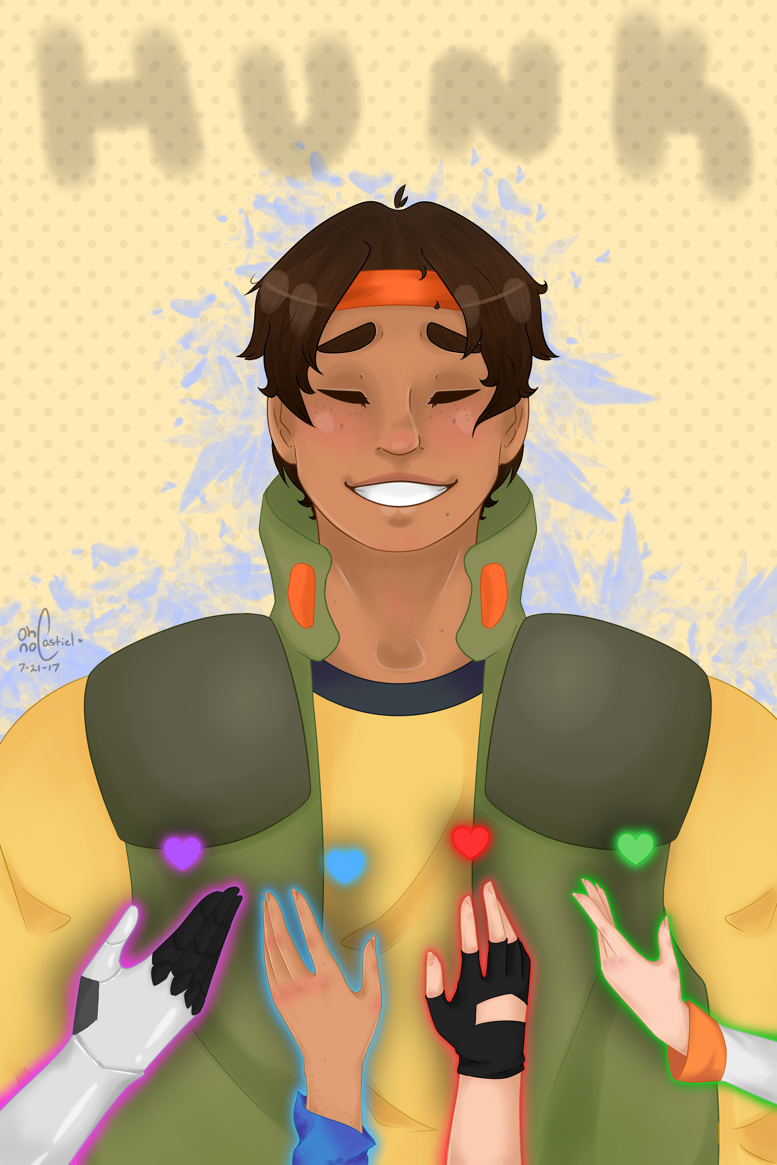 To the Tips of Your Fingers   [ vld || Hunk ] by oh-no-Castiel