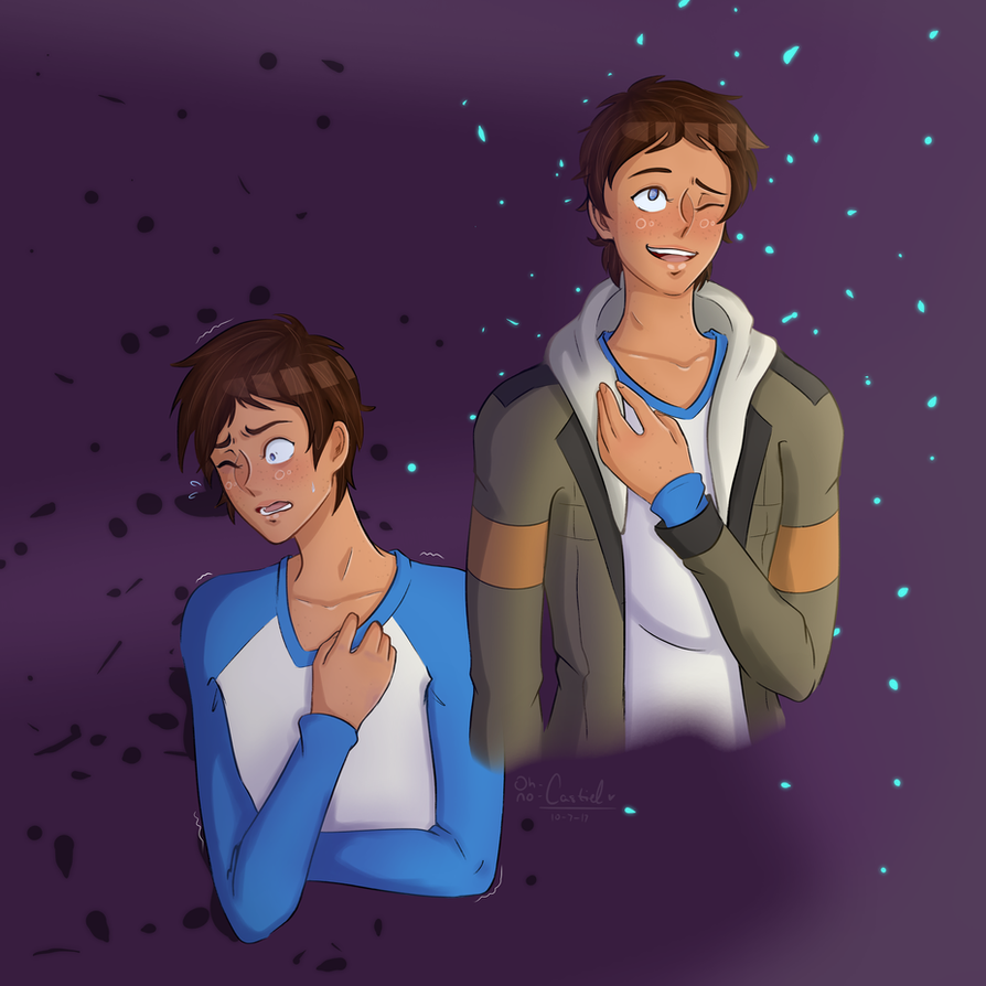 you're in control [ lance +speedpaint ] by oh-no-Castiel