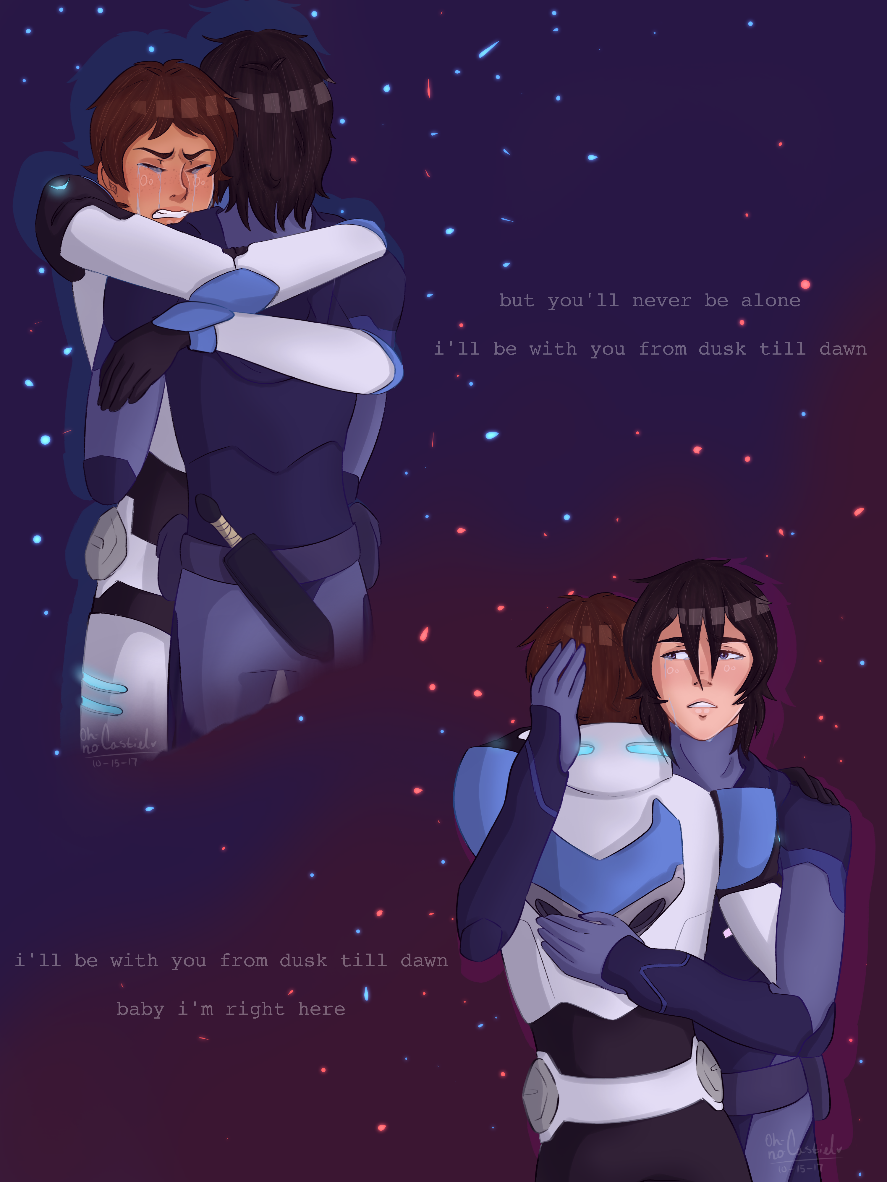 baby i'm right here [ klance +speedpaint] by oh-no-Castiel