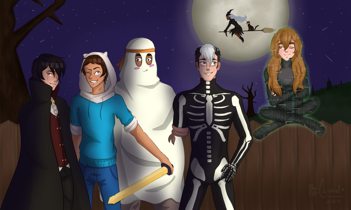 spooky scary paladins [ voltron +speedpaint ] by oh-no-Castiel