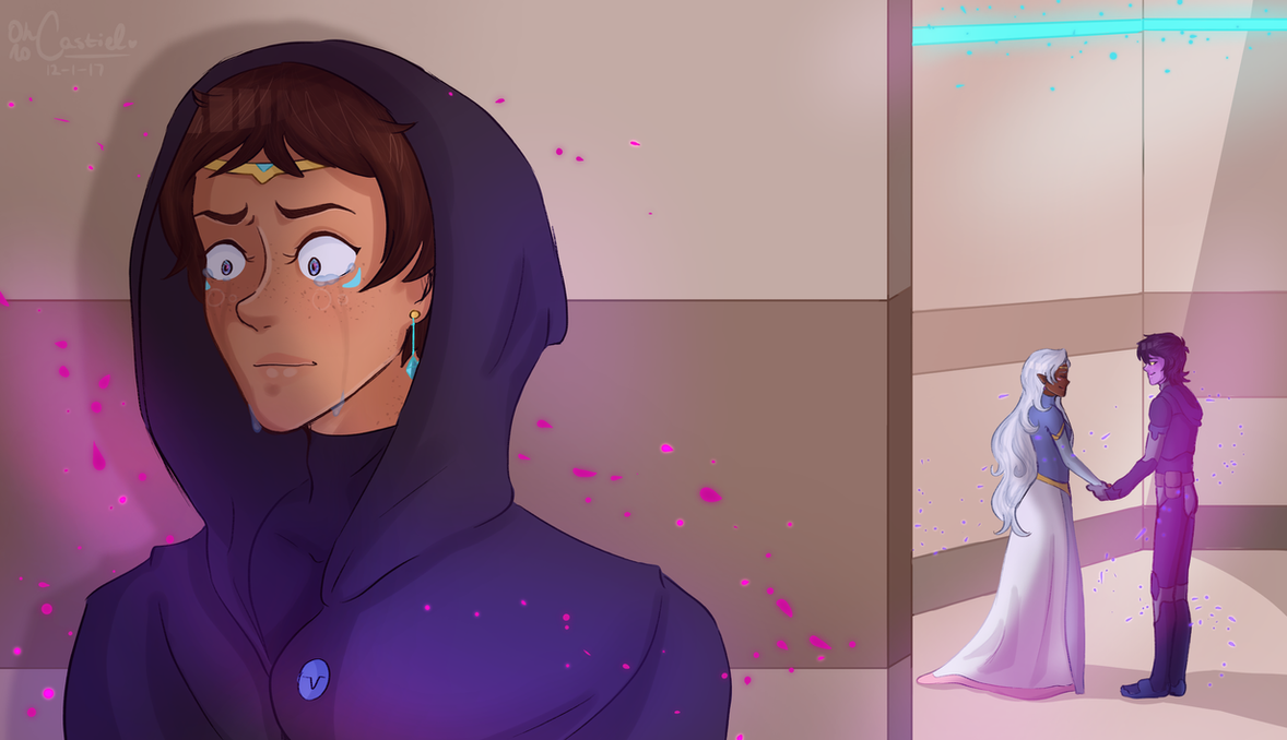 satisfied [ klance/kallura +speedpaint ] by oh-no-Castiel