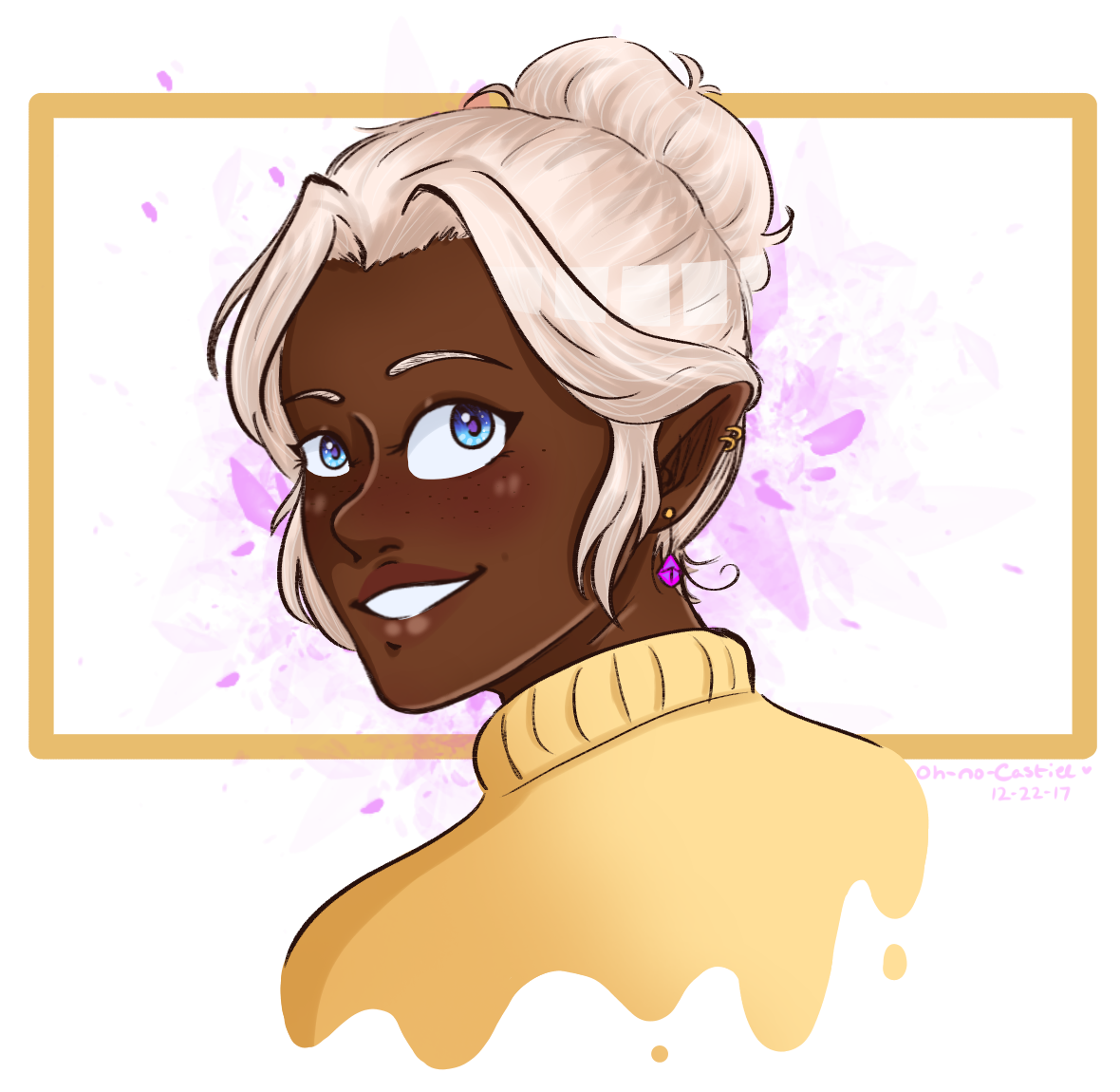 a wild half-human has appeared :0 [ allura ] by oh-no-Castiel