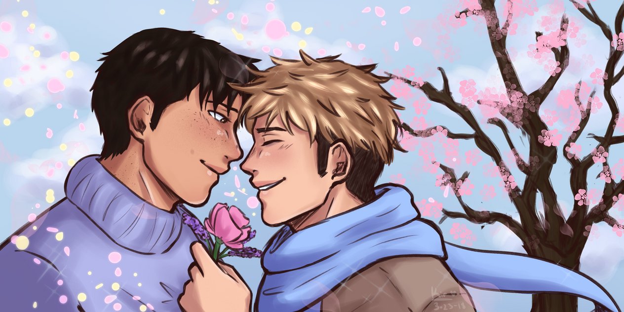 flower children [ jeanmarco ] by oh-no-Castiel