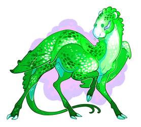 Commission: Dainty Green