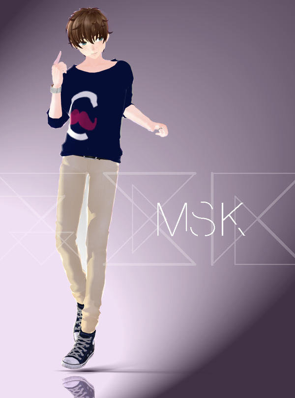 Msk Mmd By Sagakagumarie On Deviantart