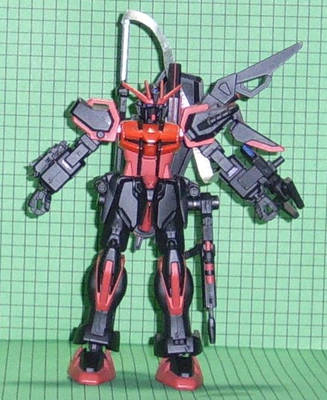 Shadow Strike Gundam - Front by LordCastigator