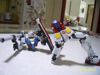 Real Grade RX-78-2 6 by LordCastigator