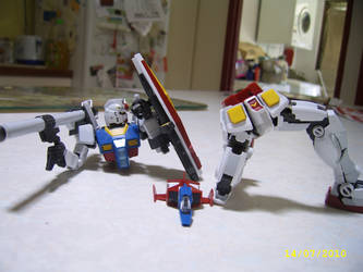Real Grade RX-78-2 7 by LordCastigator