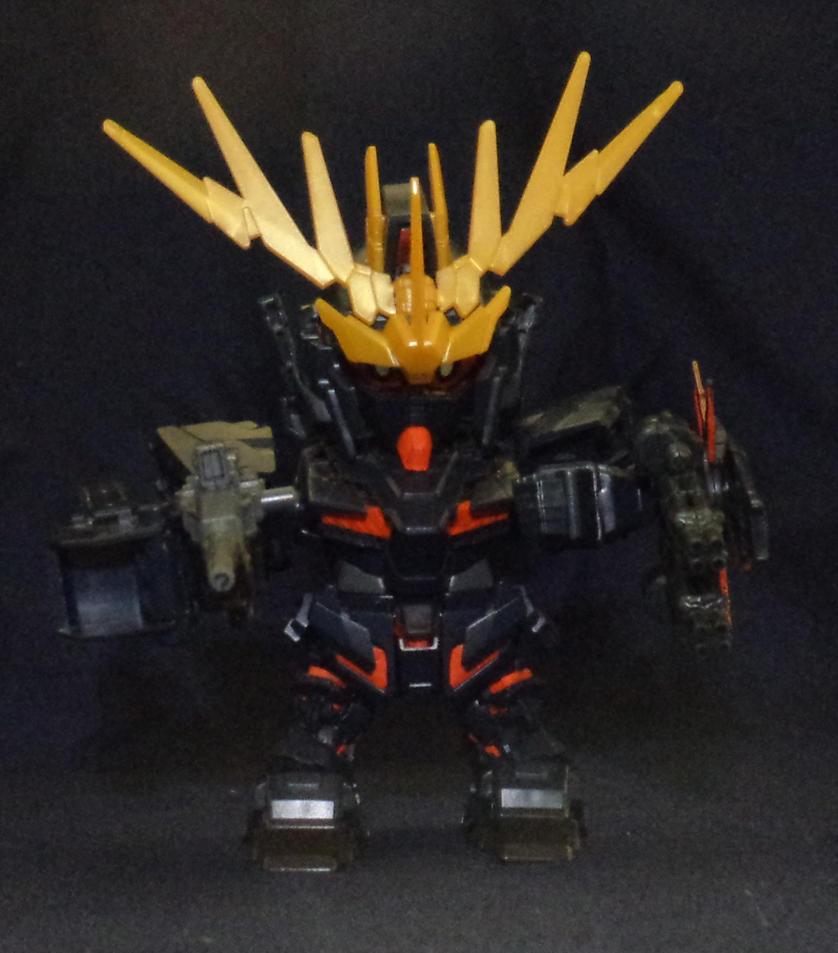 Unicorn Cercerus Chibi - Guns Up by LordCastigator