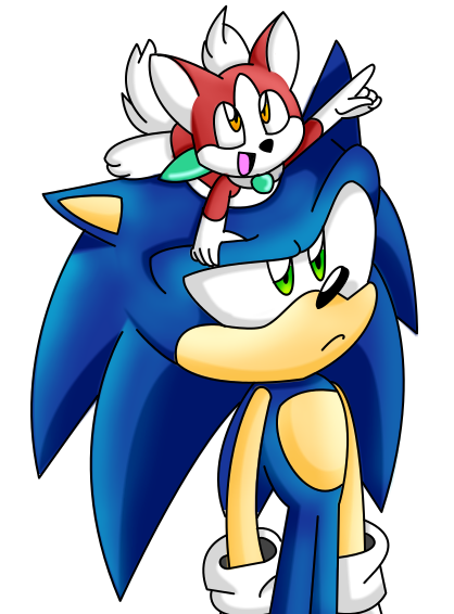 Sonic and Chip by Nightstorm10SOCK