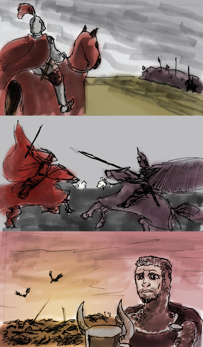 Stages of battle by ADHadh