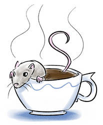 Rat Coffee by ADHadh