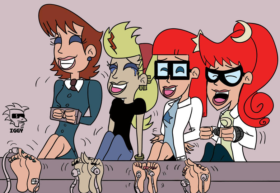 Johnny test s sisters have sex that