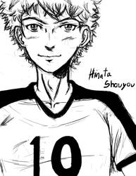 Drawing Challenge 05: Hinata Shouyou again! by sector19