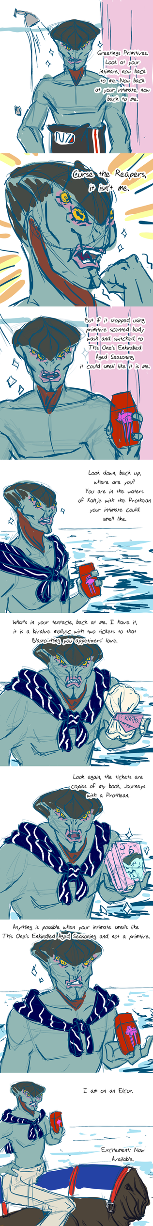 20140330 Javiks Old Spice Commercial by vampirecheetah