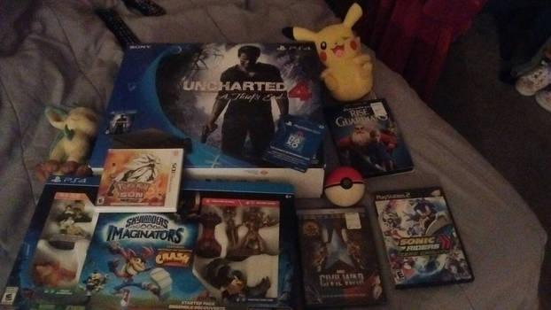 My Christmas gifts!!