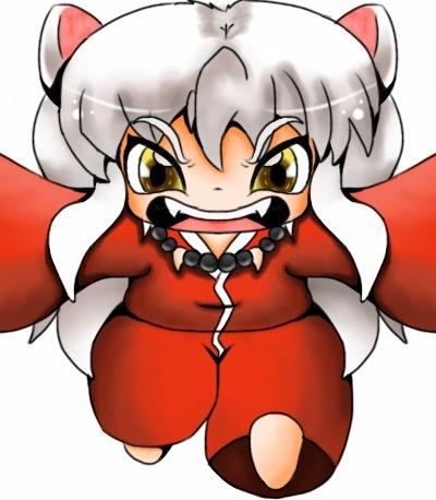 Chibi Inuyasha By Grimmjowlove
