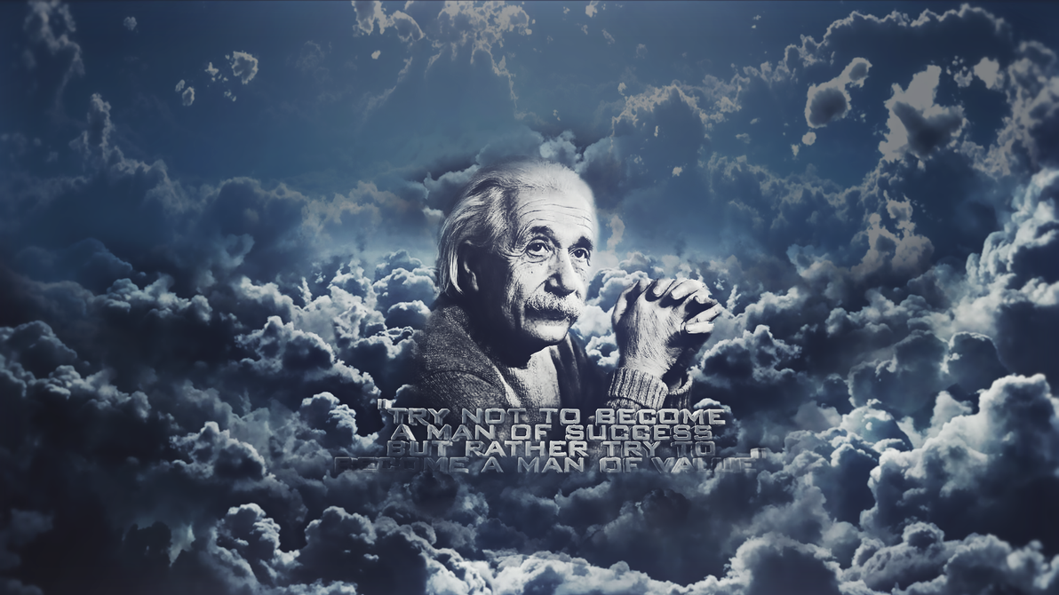 Abstract Einstein Wallpaper By ZeraCreations