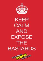 Expose-the-bastards by RomanceScamsNow