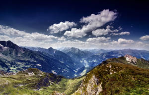The Alps scenery by mutrus