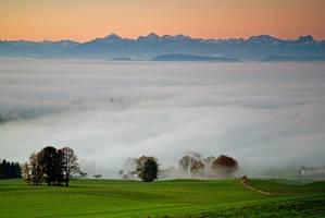 Bavarian sunrise II by mutrus