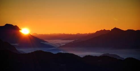 Alpine Sunrise II