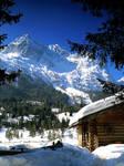 Winter in German Alps 3