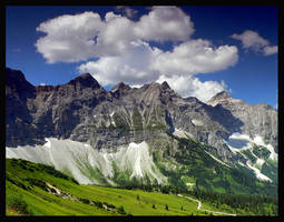 The Alps PARADISE 5 Colour by mutrus