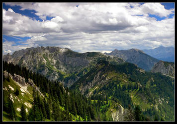 The Alps Landscapes I by mutrus