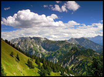 The Alps landscapes IV by mutrus