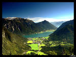 Achensee Lake in Austria Alps by mutrus