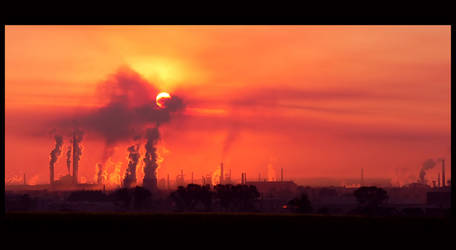 Industry Sunrise by mutrus