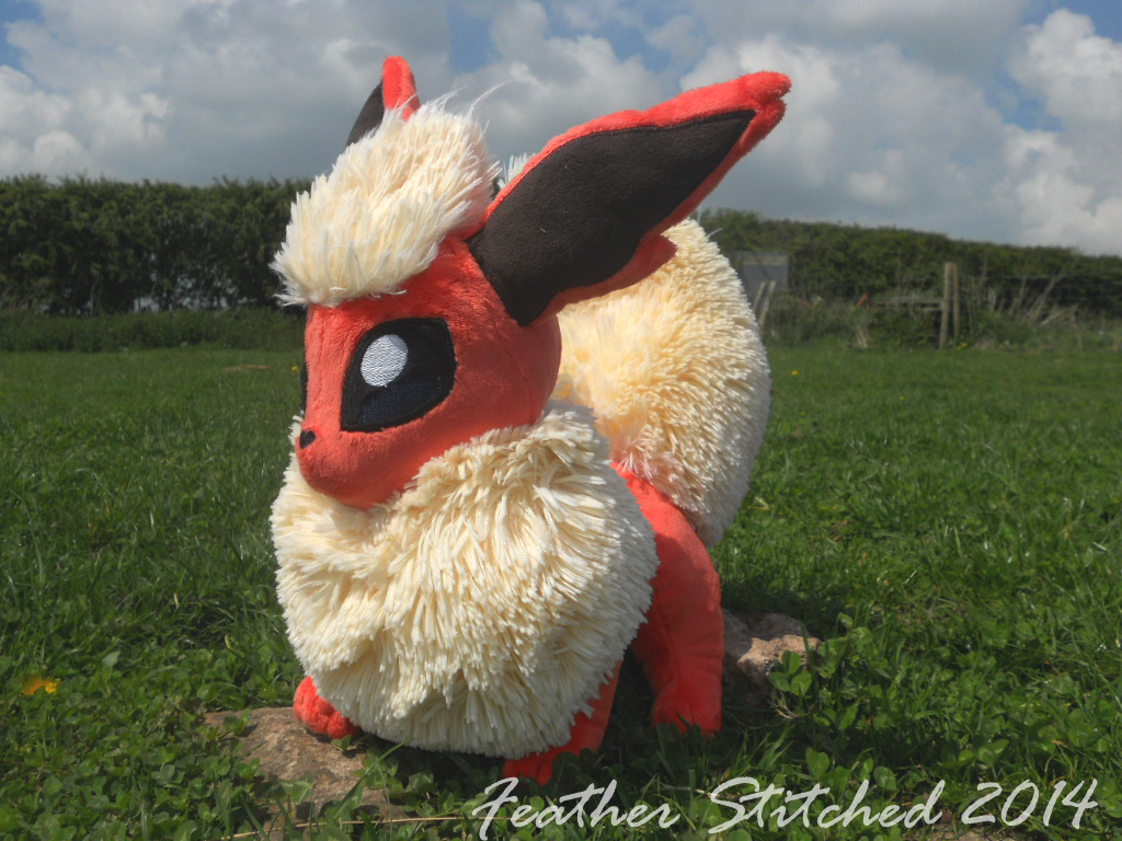 Flareon by FeatherStitched