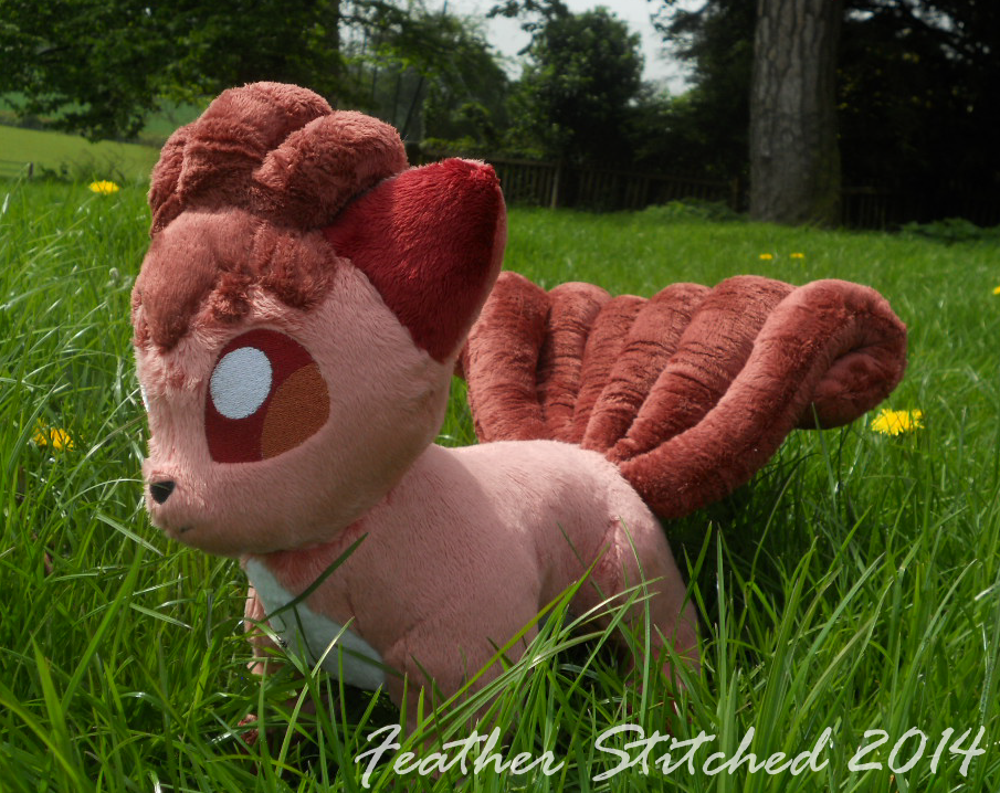a wild VULPIX appeared! by FeatherStitched