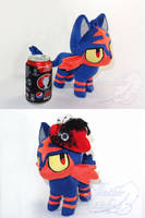 Litten Fashion (also size reference) by SylenisArts
