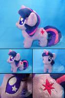 Chubby Chibi Twilight Sparkle Plush by SylenisArts
