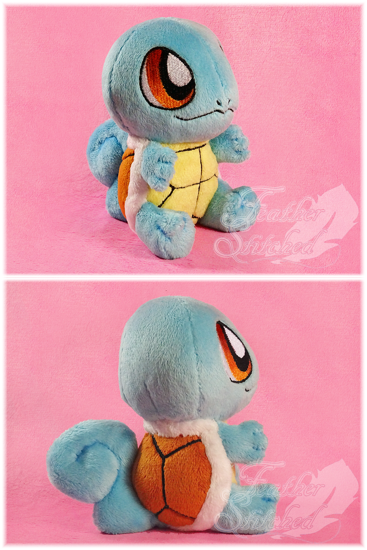 Squirtle Chibi Plush by FeatherStitched