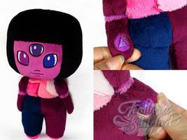 Steven Universe Chibi Garnet Plush by SylenisArts
