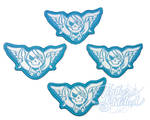 Blue Rogue Patches by SylenisCrafts