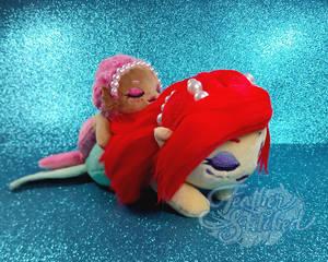 Snoozing Mermaids