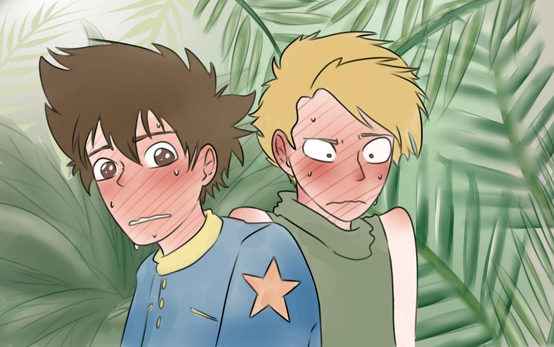 Infnity Mountain - Yamato and Taichi being stupid by WolframD