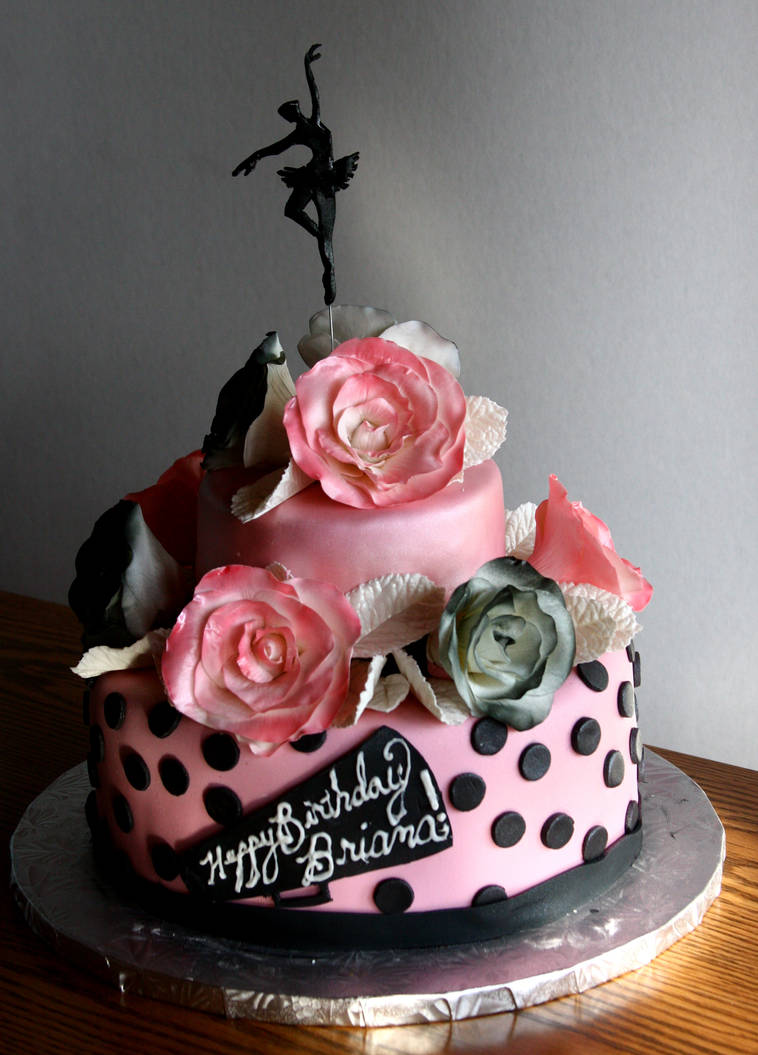 Sweet 17 Birthday Cake By TubaQueen