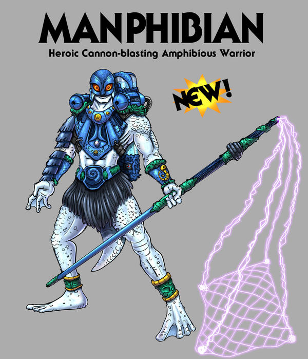 Manphibian - Heroic Warrior by oICEMANo