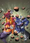 Hot Rod vs Galvatron