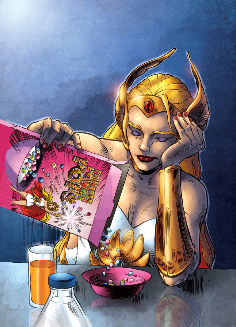 CerealGeek -  Breakfast She-ra by oICEMANo