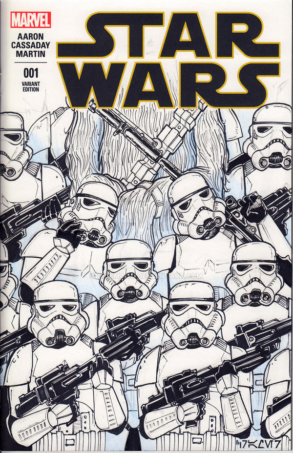 Star Wars #1 Cover by oICEMANo