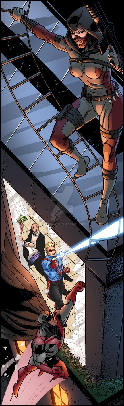 Mutants and Masterminds - Killshot by oICEMANo