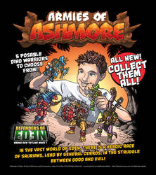 Armies of Ashmore Toy Ad