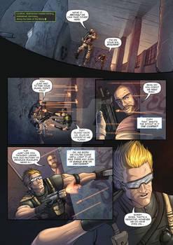 The Corps! comic page 1