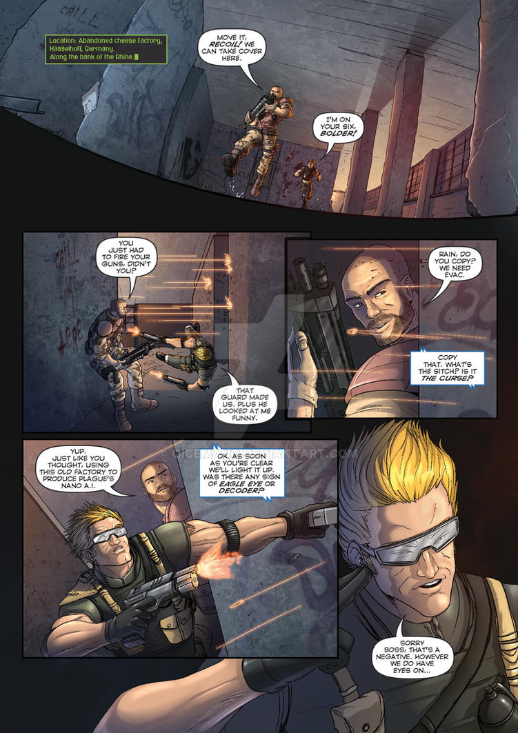 The Corps! comic page 1 by oICEMANo
